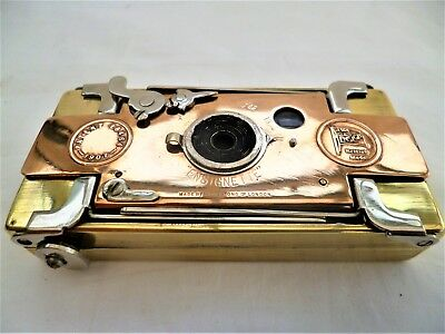 early and unusual Houghton ENSIGNETTE vintage camera