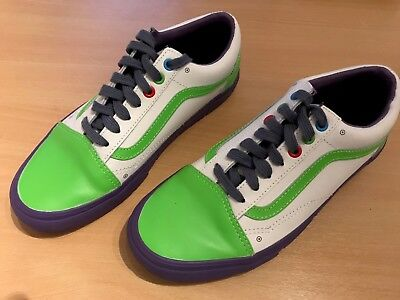 Vans Limited Edition Toy Story Buzz Lightyear Vans Uk Size 6 Unisex