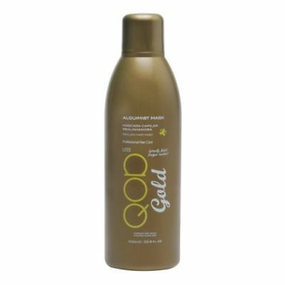 QOD GOLD ALQUIMIST OrganiQ Brazilian Keratin Blow Dry Treatment 500ML