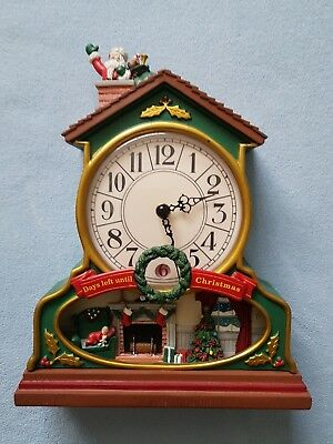 Avon Musical Christmas Clock