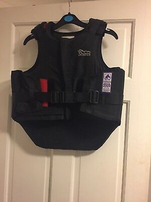 Shires Small Black Body Protector