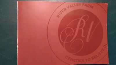 2015 River Valley Farm Jersey Dairy Cattle Herd & Sire Directory Book Tremont Il
