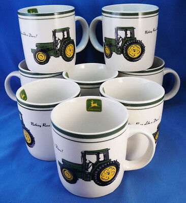 Stout Gibson John Deere Coffee Cup,mug,8 Available,new,nothing Runs Like A Deere