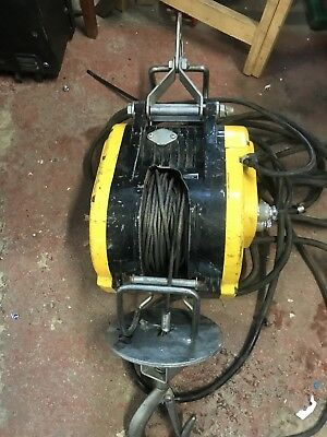 BHW COMPACT SCAFFOLD HOISTS WIRE ROPE LIFTING HOIST WINCH  110v