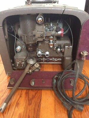 Vintage 1940s Bell & Howell (B&H) Filmosound 185 16mm Film Projector