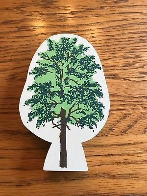 Cats Meow Large Green Tree Retired
