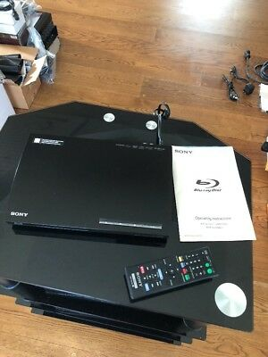 Mint Sony Blu-ray DVD Player BDP-BX18 with Manual & Remote RMT-B119A