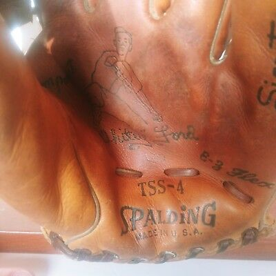 Vintage Spalding Baseball Glove - Yankees Whitey Ford
