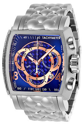 Invicta Men's 27955 S1 Rally Quartz Multifunction Blue, Rose Gold Dial Watch