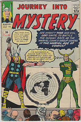 Journey into Mystery #94, Thor, Loki, Marvel Comics