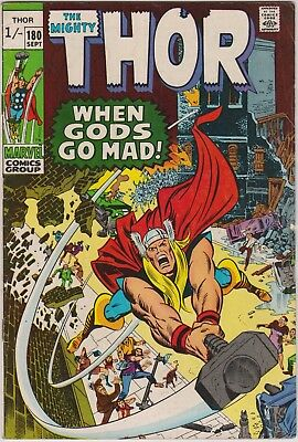 Thor #180, Marvel Comics