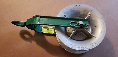 GREENLEE 651 Hook Type Cable Sheave Tugger Puller NICE, PRICED-TO-SELL!
