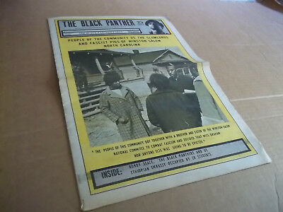 Black Panther Newspaper March 28, 1970 Huey Newton VG+