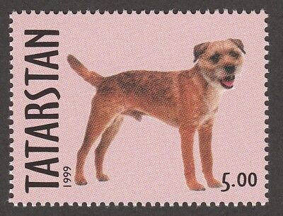 BORDER TERRIER ** Int'l Postage Stamp Collection ** Great Gift Idea **