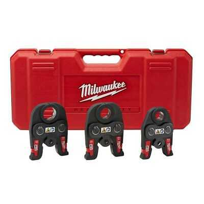"Milwaukee 49-16-2696 Black Iron Press 1/2"" - 1"" Kit New"