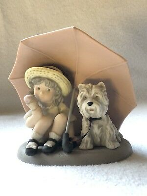 Kim Anderson Figurines~Friendship Is A Gift To Share~1997