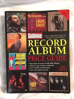 Goldmine Record Album Price Guide - by Tim Neely 2003 edition Completely intact!