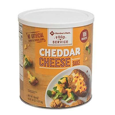 Member's Mark Cheese Sauce, Cheddar, 106 Ounce