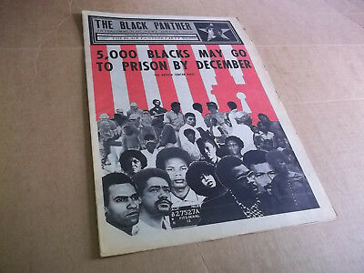 Black Panther Newspaper August 21, 1971   VG+
