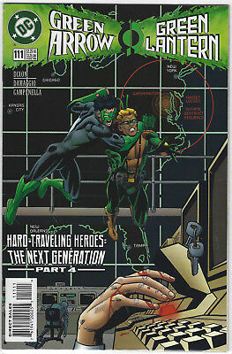 Green Arrow (1987 1st Series) #111 High Grade DC Comics Green Lantern Crossover
