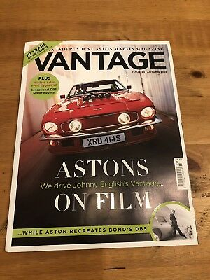 Vantage Aston Martin Magazine Issue 23 Autumn 2018