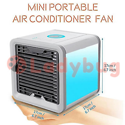 Portable Air Conditioner Cool Cooling  Mini Fan For Bedroom Cooler Fan USB