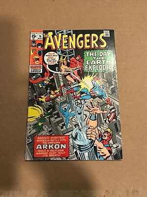 avengers 76, 77 Two comic book lot