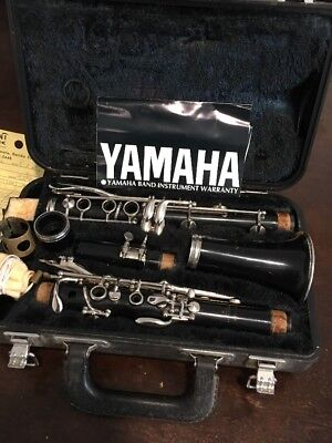 VINTAGE YAMAHA NIPPON GAKKI CO. CLARINET JAPAN With Hard Case