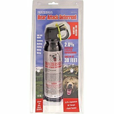 Frontiersman Bear Attack Deterrent Spray 7.9 OZ. with Belt Holster