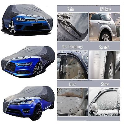 LWB BMW 7 SERIES All YEARS HEAVY DUTY FULLY WATERPROOF CAR COVER COTTON LINED