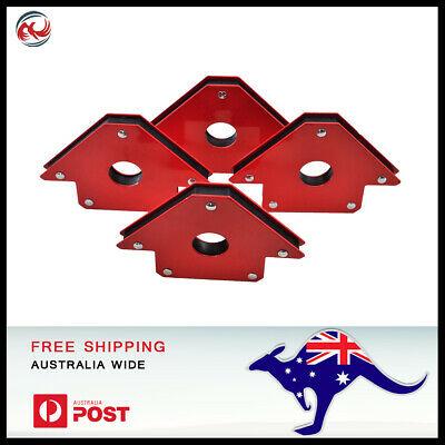 Magnetic Steel Welding Magnet Angle Holder Clamp 90 degree, 2 or 4 Piece 50LBS