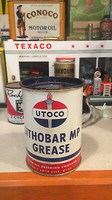 UTOCO 1 LB Grease Can Excellent Condition No Dents or Dings ,