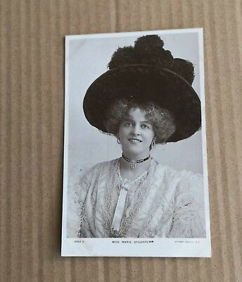 Early 1900s Glamour Post Card Miss Marie Studholme