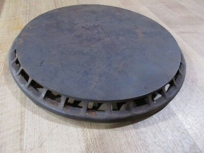 Antique Cast Iron Stove Top  Heat Diffuser 8 inch June 27 1911 >