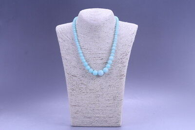 Exquisite Chinese handmade beaded jade necklace