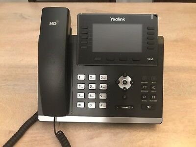 Yealink T46G Ultra-elegant Gigabit IP Phone