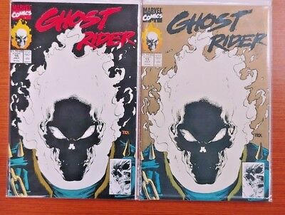Glow In The Dark Ghost Rider #15 Cover Set 1St & 2Nd Print