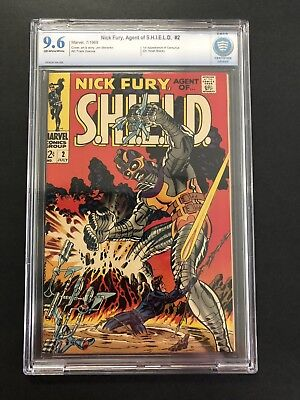 NICK FURY AGENT OF SHIELD #2 (1968) 1st CENTURIUS CBCS  NM+ 9.6 OW/W NICE BOOK!
