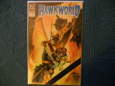 DC Comics; Hawkworld-'Partners' #4, Sep '90. Uncert. VF/MN