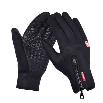 Women Men Winter Waterproof Insulated Gloves Outdoor Thermal Warm Riding Mittens