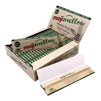 Re*l Sm*ker PURE HEMP Rolling Papers 108*45mm 25 Booklets=800 leaves Smoking