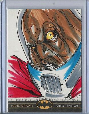 Batman: The Legend 2013 Cryptozoic DC Sketch Card by Vince Sunico 1/1