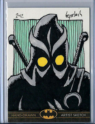 Batman: The Legend 2013 Cryptozoic DC Sketch Card by Bruce Gerlach 1/1