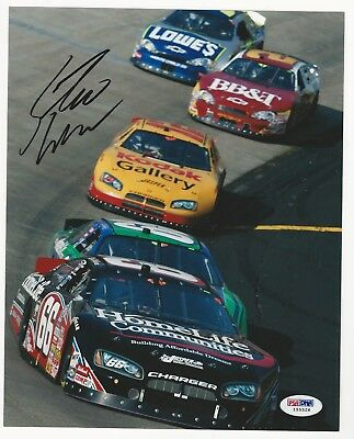 Steve Wallace Hand Signed Autographed 8x10 Picture Photo PSA/DNA NASCAR