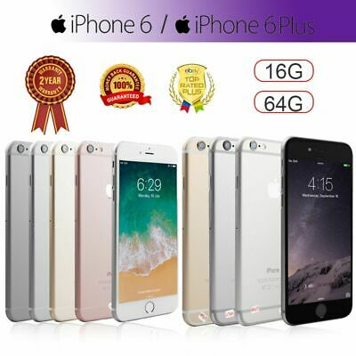 Apple iPhone 6 Plus iPhone 6 16GB 64GB Grey Sliver Gold Unlocked Smartphone New