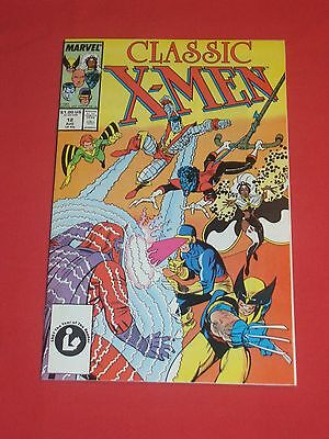 """""""classic X-Men"""" Comic Book - # 12 - Released By   Marvel Comics In 1987"""
