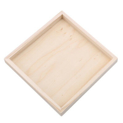 3D Wood Plate for Six-Sided Painting Building Block Wood Pallet