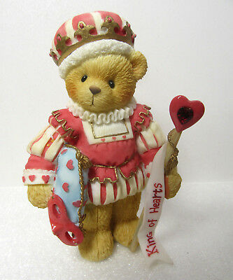 Cherished Teddies KING OF HEARTS from the Collector's Set Figurine