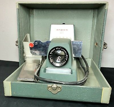 Vintage Argus 300 Automatic 35mm Slide Changer Projector Camera Photography