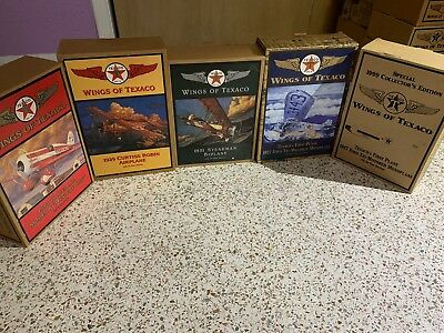 Wings of Texaco : Lot of 5 planes